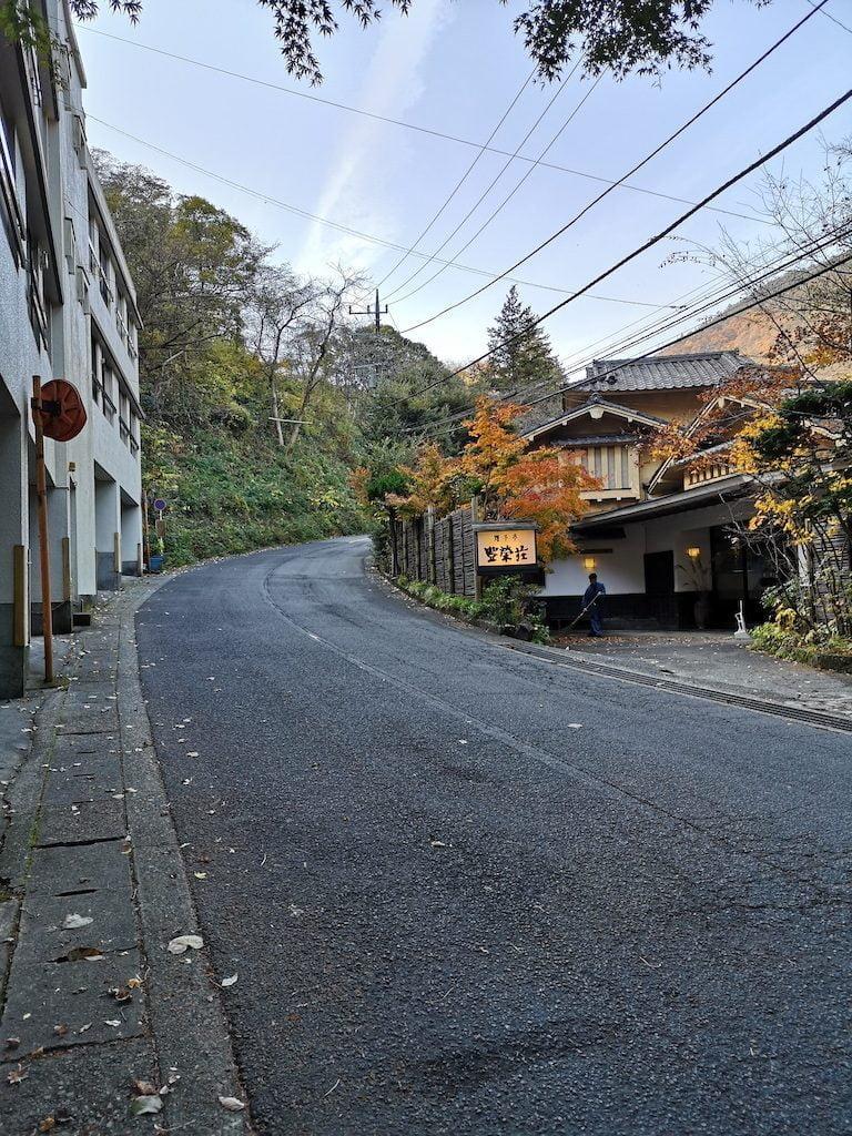 Bus-stop i Hakone