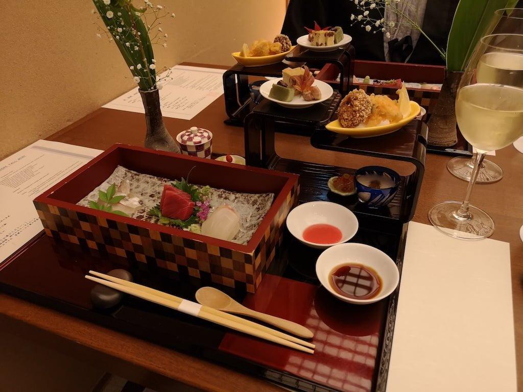 kaiseki middag