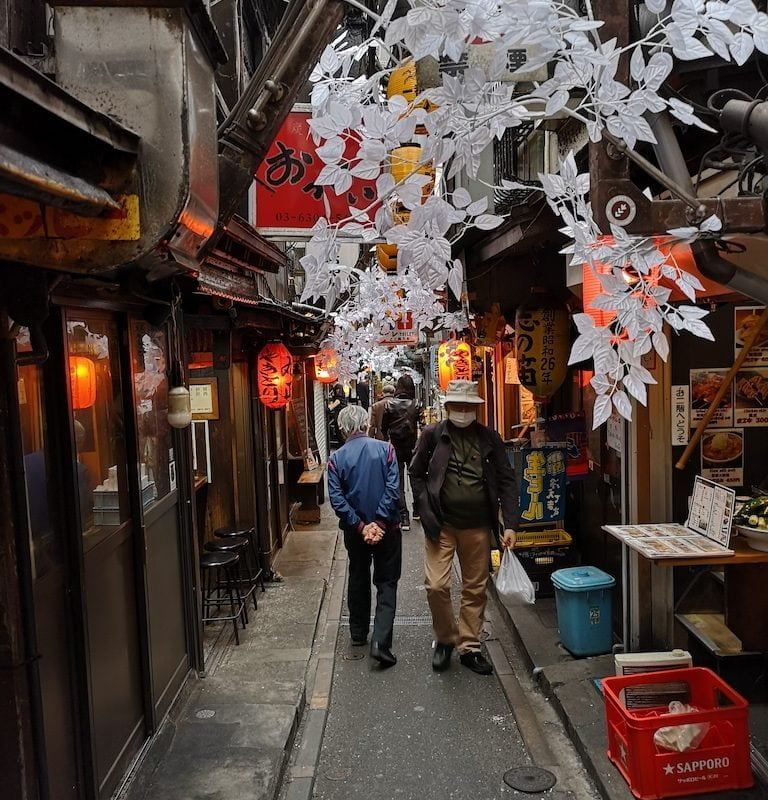 Omoide Yokocho i Shinjuku