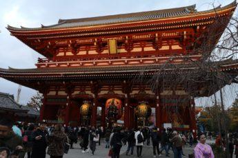 Senso-ji templet i Asakusa