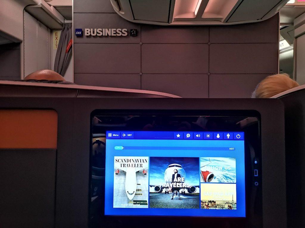 SAS Business fra København