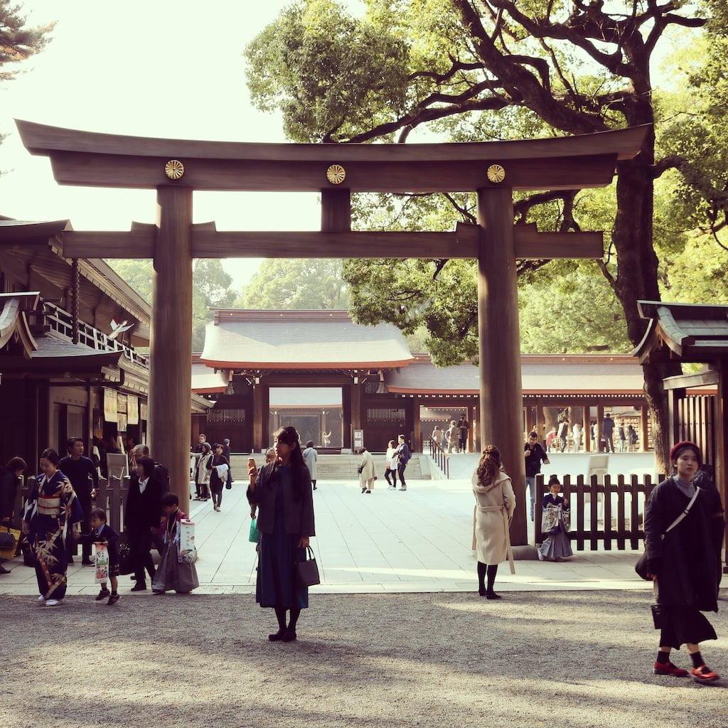 Meiji-jingu helligdommen