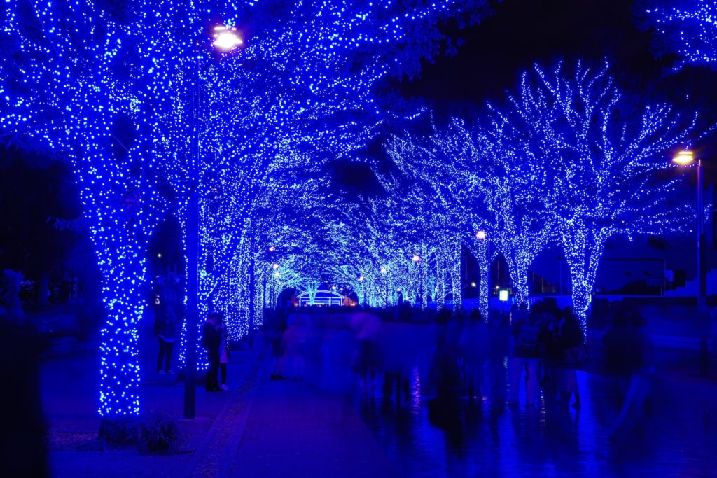 Julelys i Tokyo
