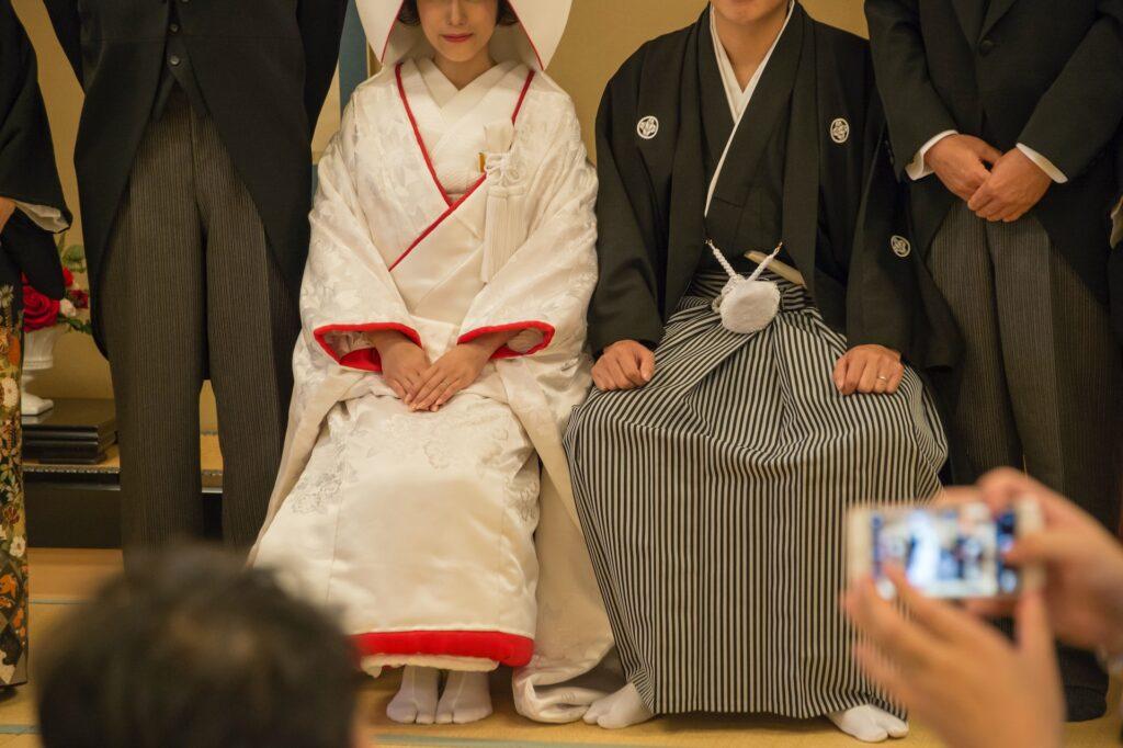 kimono med kamon